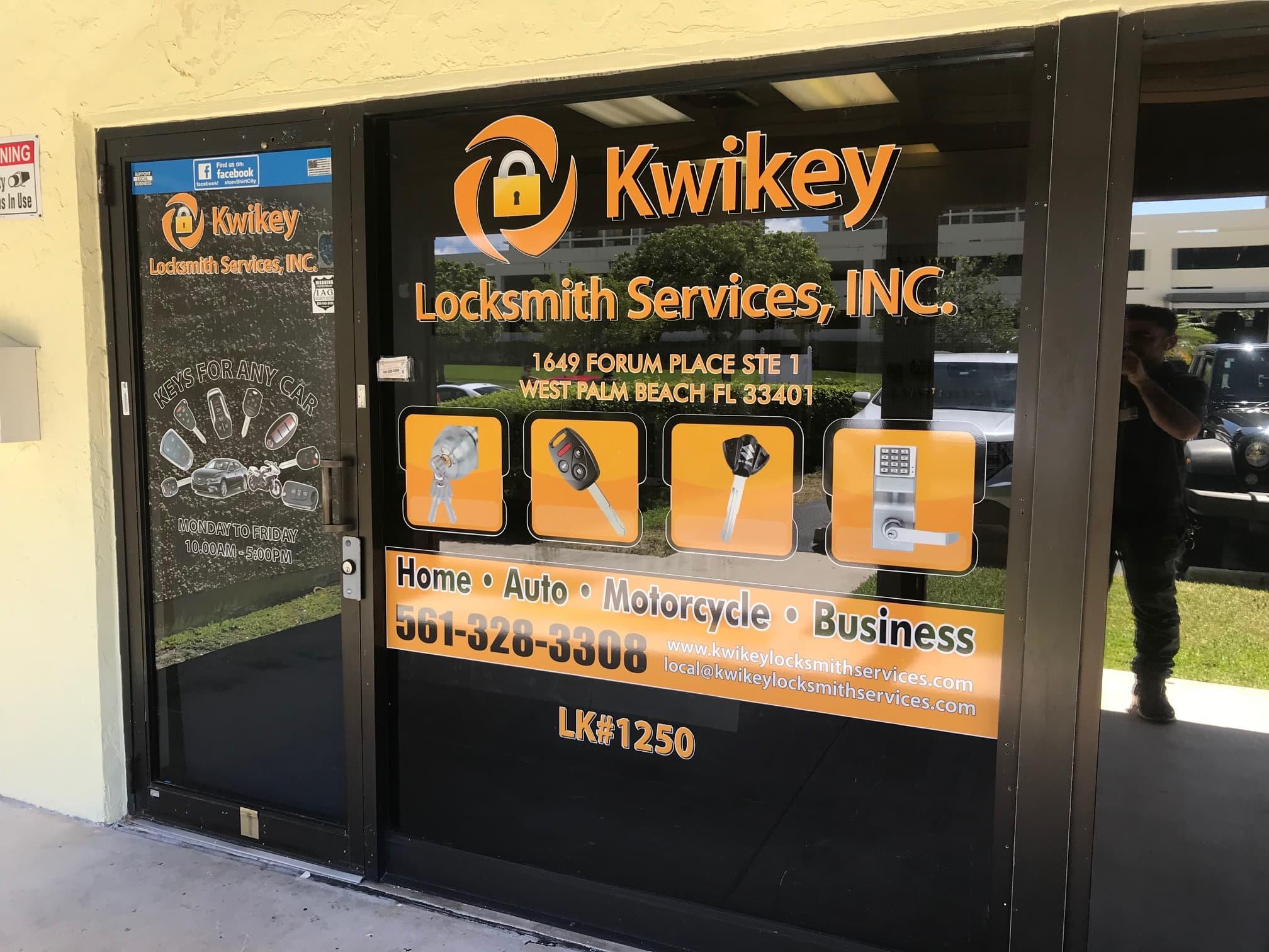 kwikey locksmith services inc