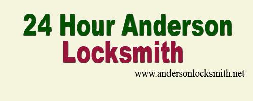 24 Hour Anderson Locksmith