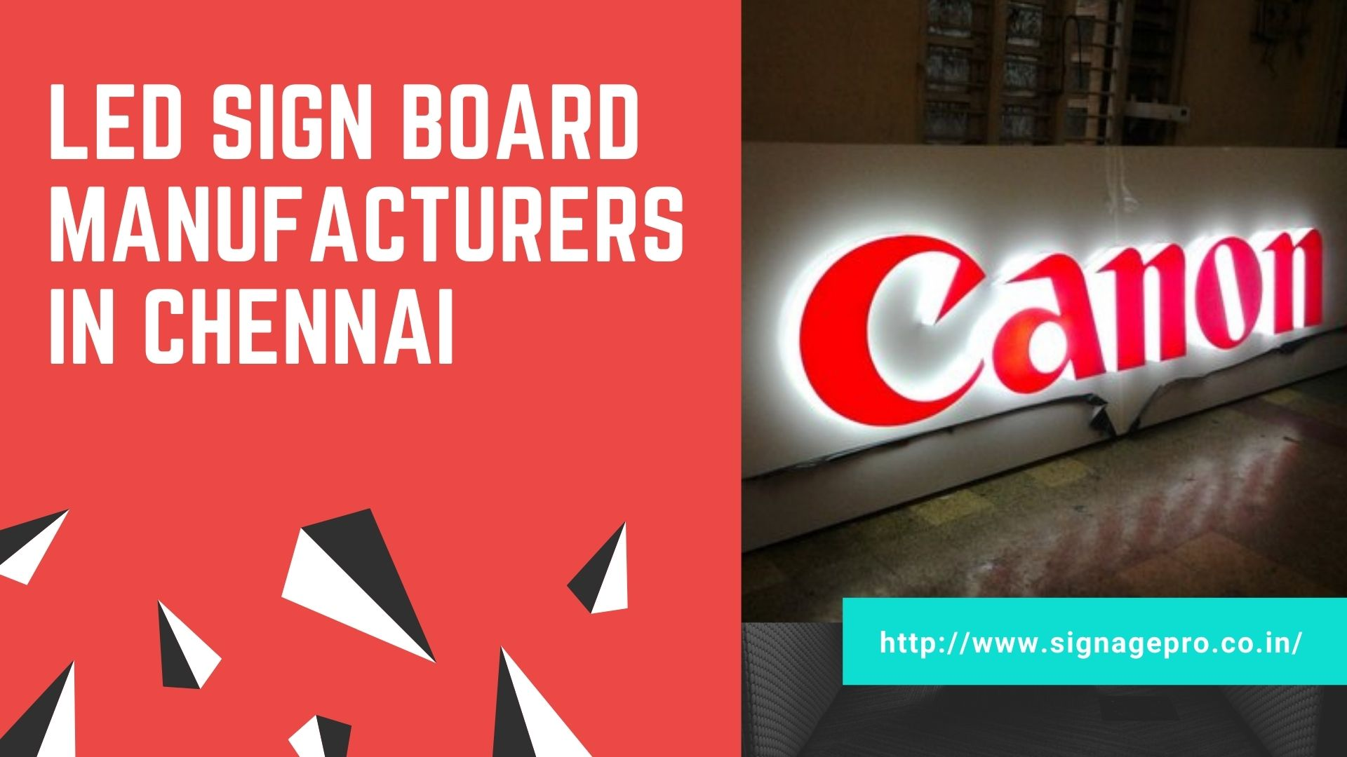 Signagepro - LED, ACP Sign Board Manufacturers in Chennai