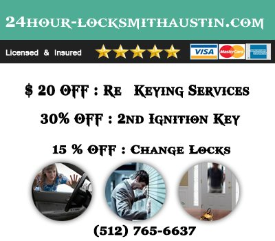 24 Hour Locksmith Austin