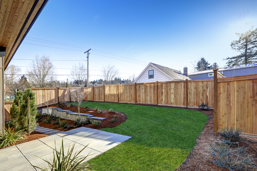 White Marsh Fence and Deck