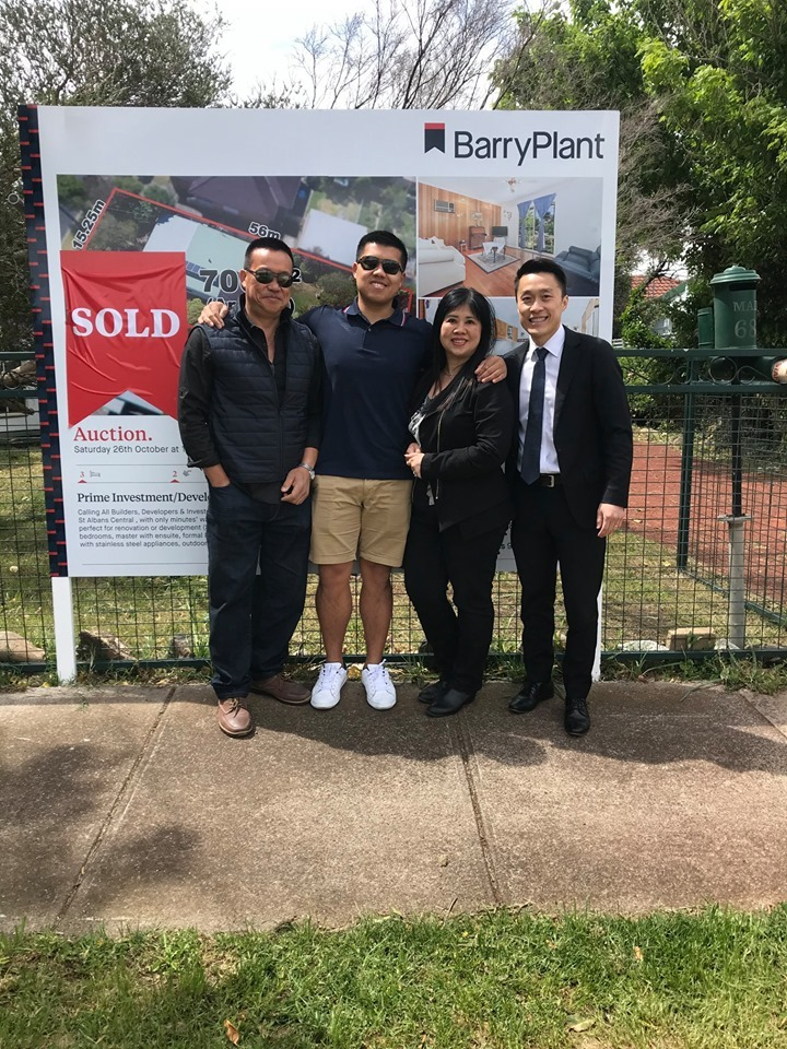 Barry plant real estate in St Albans