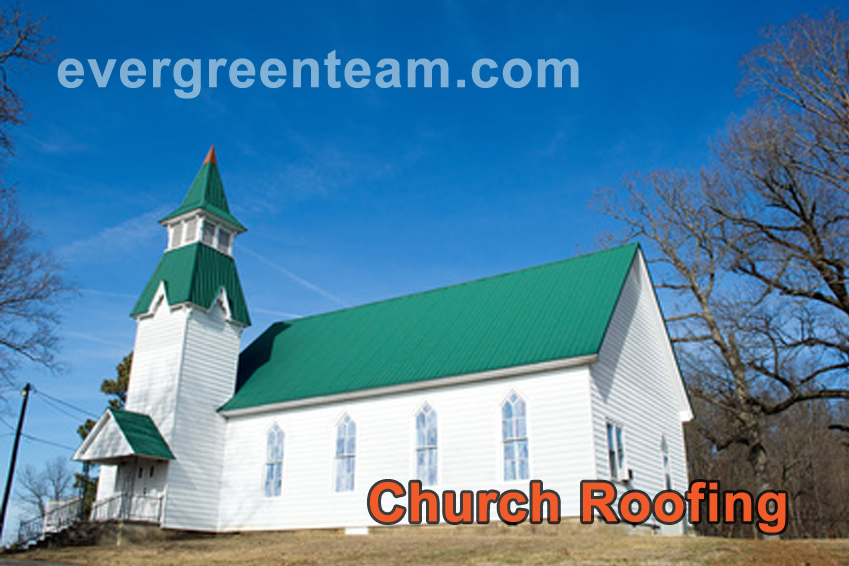 Evergreen-Renovations-Church-Roofing