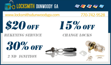 Locksmiths Dunwoody