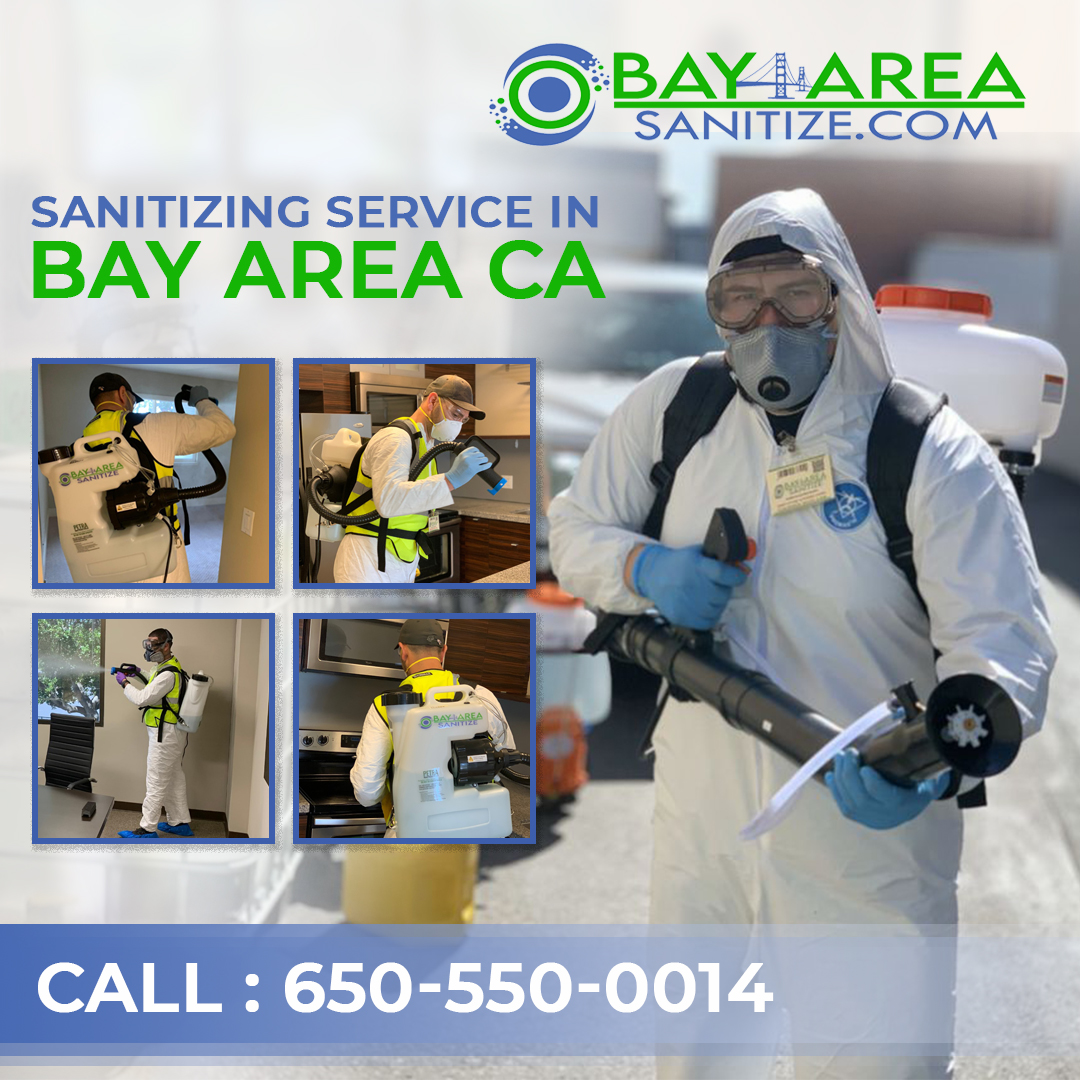 Sanitizing company in Bay Area