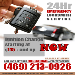 Locksmith Prosper TX