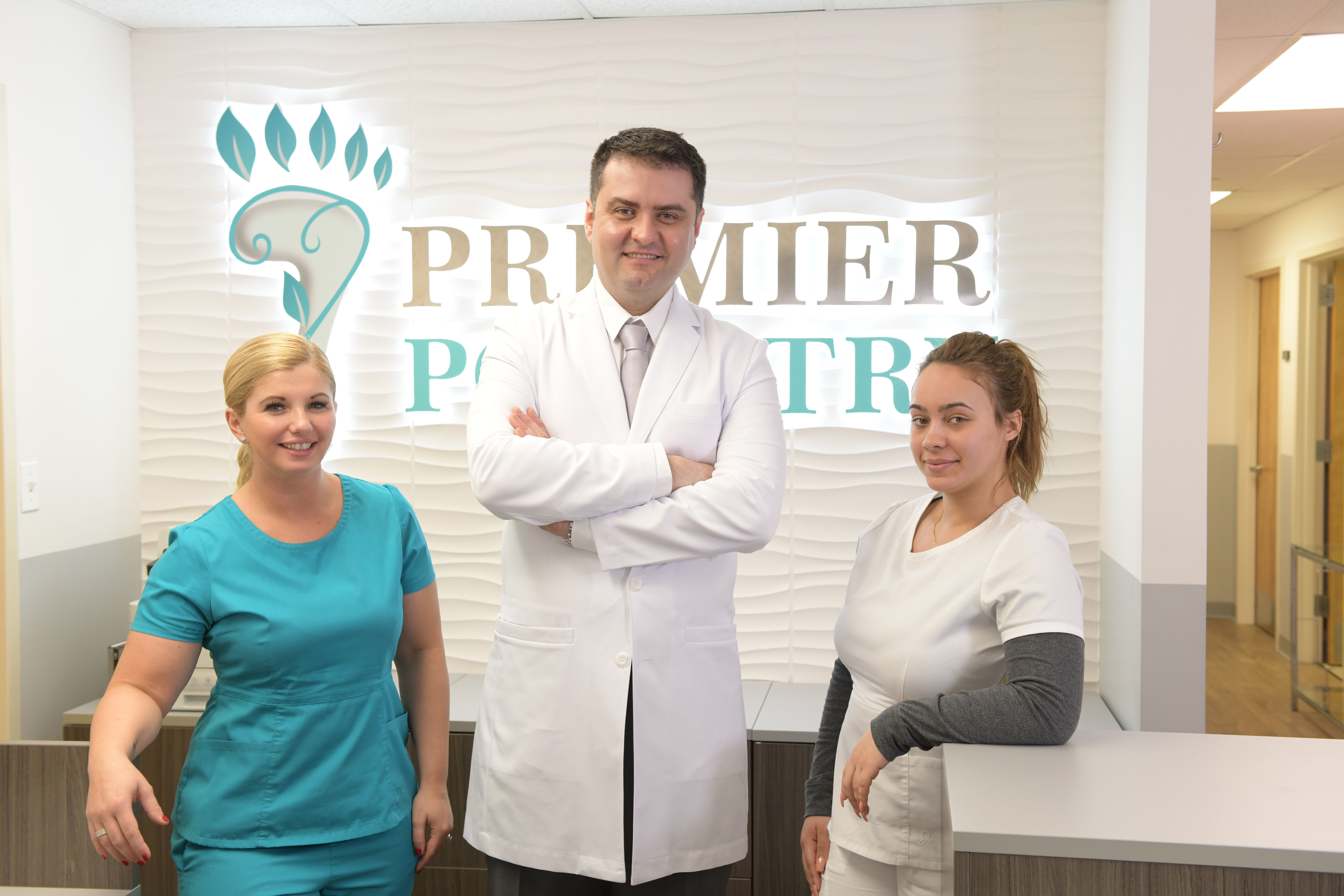 Dr. Velimir Petkov and the team at Premier Podiatry