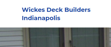 Wickes Deck Builders Indianapolis