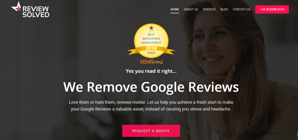 Reviewsolved Home Page